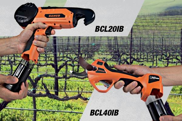 BAHCO BCL20IB & BCL40IB, MORE THAN CORDLESS