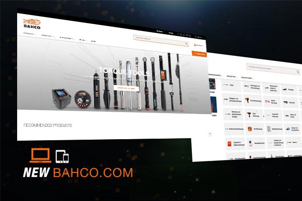 Bahco heeft een nieuwe website!